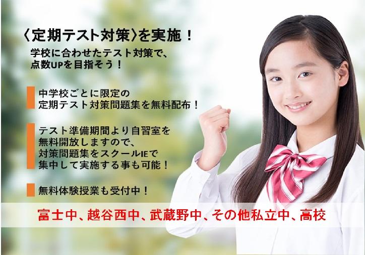西 高校 越谷 偏差値と内申合格のめやす 埼玉県公立高校入試